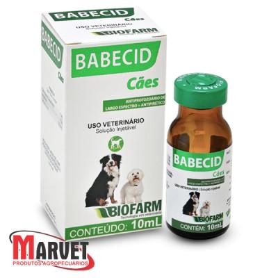 Babecid antiprotozoário para cães 10 ml