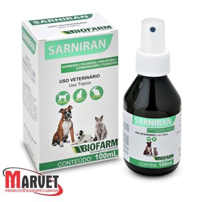 Sarniran sarnicida pulgicida piolhicida em spray- 100 ml