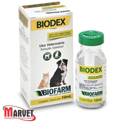Biodex antiinflamatório adenocorticóide  - 10 ml