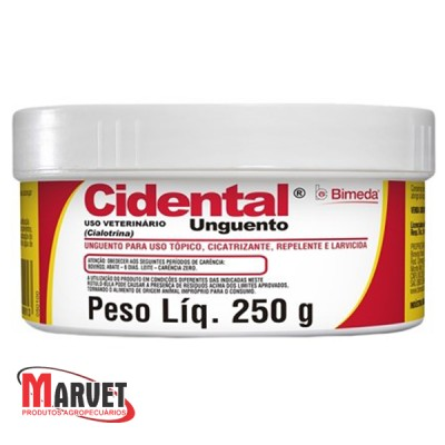 Unguento cidental  - 250gr
