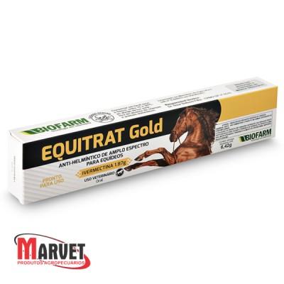 Equitrat Gold tratamento e controle de verminoses  - 6,42gr