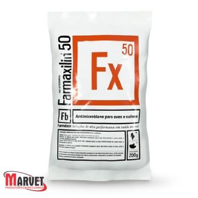 Farmaxilin® 50 - medicamento a base de Amoxicilina  200 g