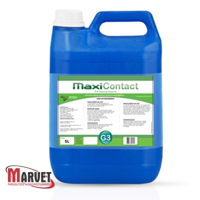 Maxicontact pre dipping aplicação em espuma  - 5lts