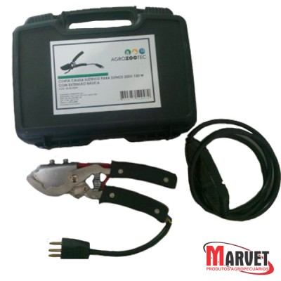 Corta cauda elétrico 220v - 120 w com extensão básica