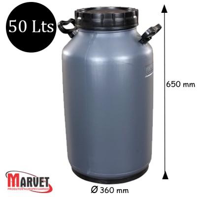 Tarro Latão Para Leite De Plástico Milkan - 50 Lt
