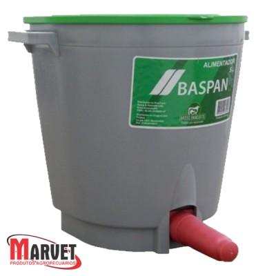 Mamadeira Balde Alimentador P/bezerros E Ovelhas C/tampa 5l