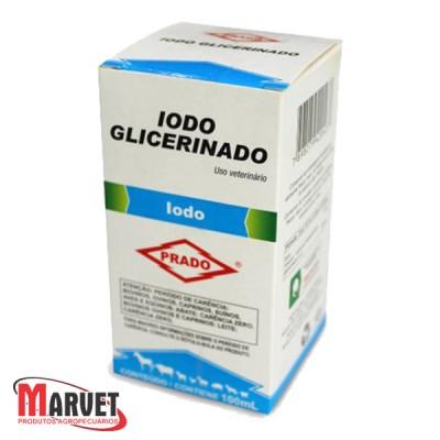 Iodo Glicerinado solução antisséptica para uso tópico e oral - 100 ml