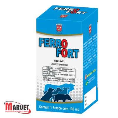 Ferrofort Solução Injetável de Ferro Dextrano  - 50ml