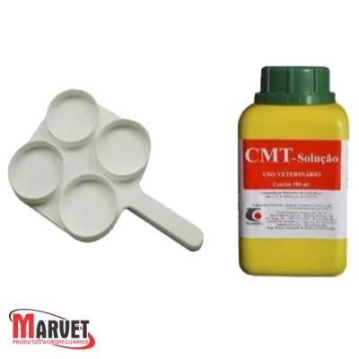 Kit Raquete + Solução Para Teste De Mastite (CMT)