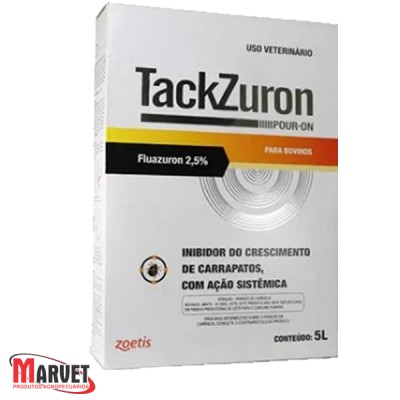 Tackzuron pour on - controle de carrapato em bovinos - 5L