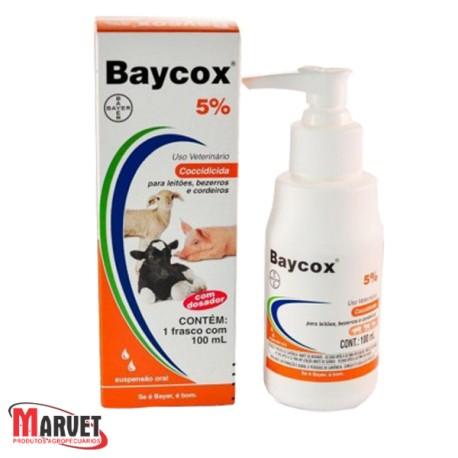 BAYCOX 5% - 100 ML com dosador
