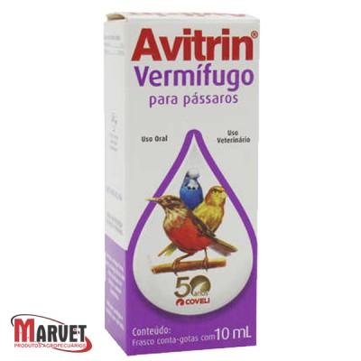 Vermifugo para aves Avitrin - 10 mL