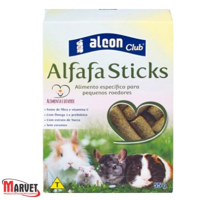 Alcon Club Alfafa Sticks para roedores - 55g