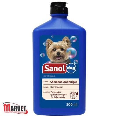 Shampoo Antipulgas Sanol - 500 ml