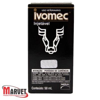 Ivomec Injetavel 50 Ml - Ivermectina A 1% - Boehringer Ingelheim