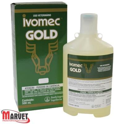 Ivomec Gold 500 Ml - Ivermectina Merial A 3,15%