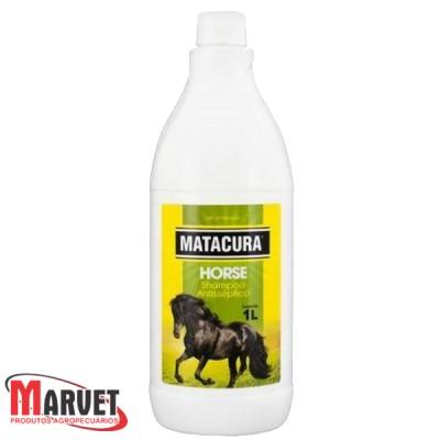 Matacura Horse - Shampoo Antisséptico para cavalos- 1 Litro