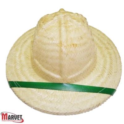 Chapéu de palha - redondo
