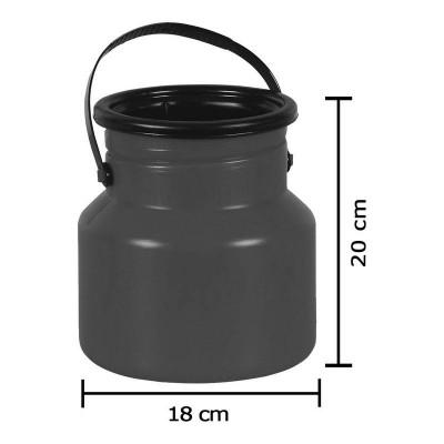 Tarro Latão Para Leite De Plástico Milkan - 3 Lt