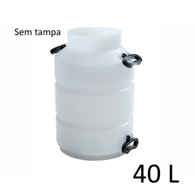 Tarro Vasilhame sgamaq Para Ordenha -  40L
