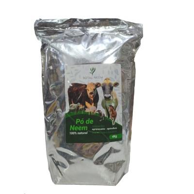 Pó de Neem-  Bioinseticida e repelente 100% natural - 4 kg