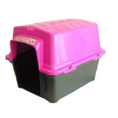 Casinha Para Cães Furacão Pet - Rosa pink